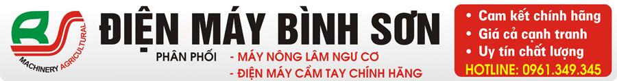 ĐIỆN MÁY BÌNH SƠN Nông Ngư Cơ Uy Tín Số 1 Việt Nam
