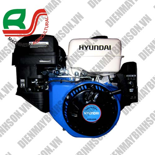 Động cơ xăng Hyundai 420S có đề