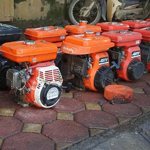 Động cơ xăng cũ Kubota GH170
