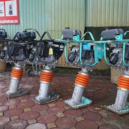 Máy đầm cóc nhật bãi Hitachi ZV55RL