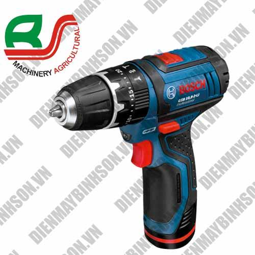 Máy khoan pin Bosch GSB 10.8-2 LI