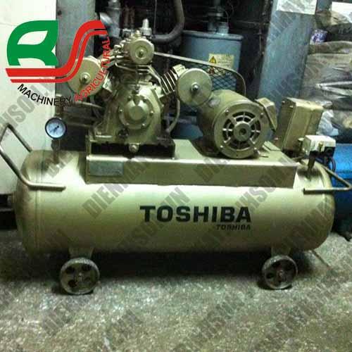 Máy nén khí cũ Nhật Toshiba 2.2Kw