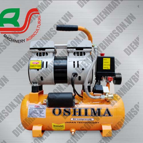 Máy nén khí không dầu Oshima 9L