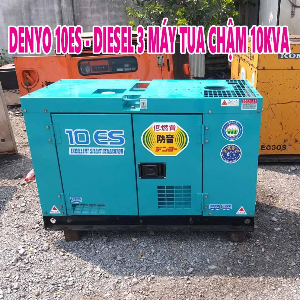 Máy phát điện cũ nhật Denyo 10ES
