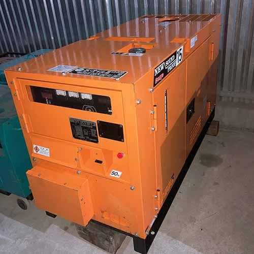 Máy phát điện 15kva nhật cũ Denyo DCA15 SPX