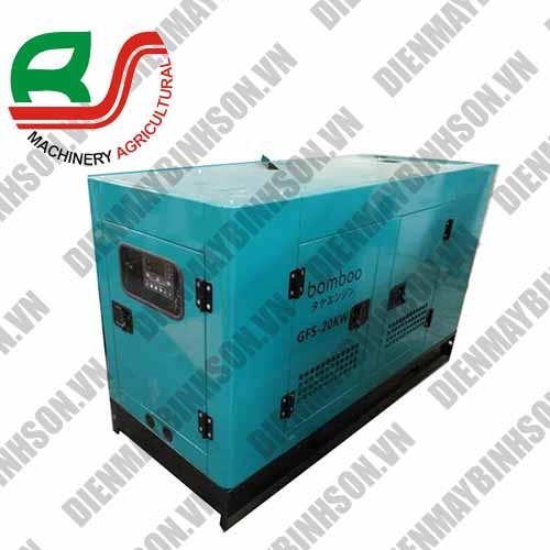 Máy phát điện 25kva Bamboo Bmb28800