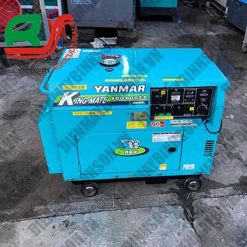 Máy Phát Điện Nhật Cũ Yanmar YDG600TS