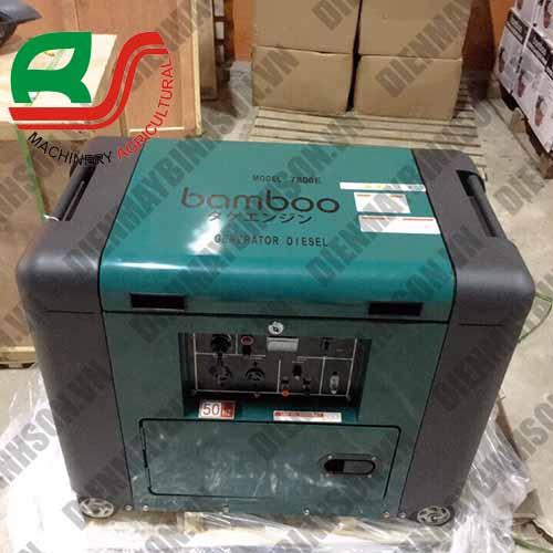 Máy phát điện chạy dầu Bamboo 5.5kw