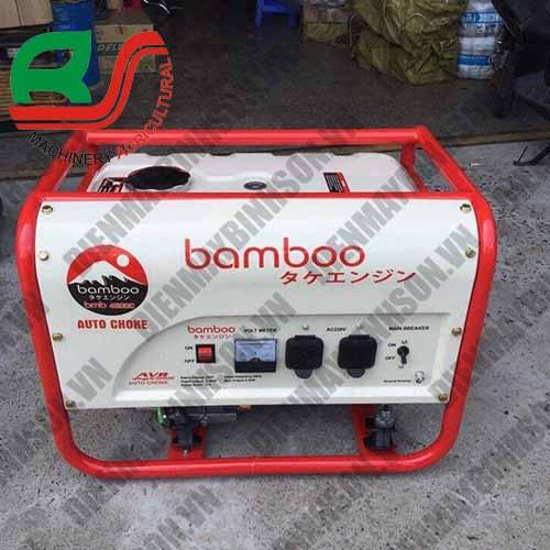 Máy phát điện Bamboo 6500 Có Đề