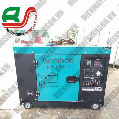 Máy phát điện 7.5kw Bamboo Bmb 8800 ET