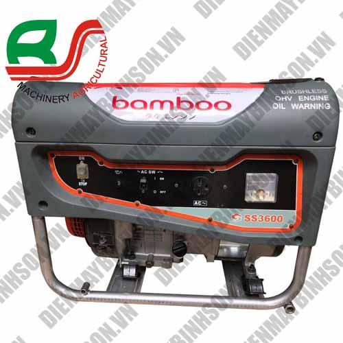 Máy phát điện Bamboo BMB 3600