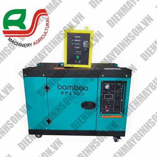 Máy phát điện chạy dầu Bamboo ATS 7kw