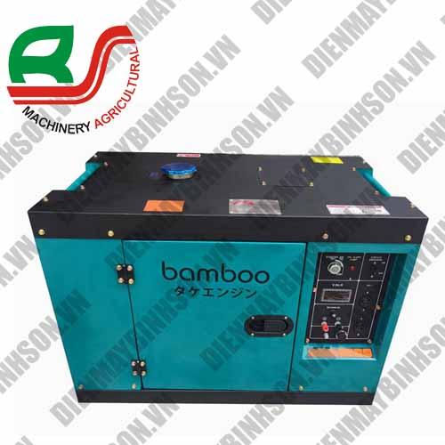 Máy phát điện chạy dầu Bamboo 7 Kw