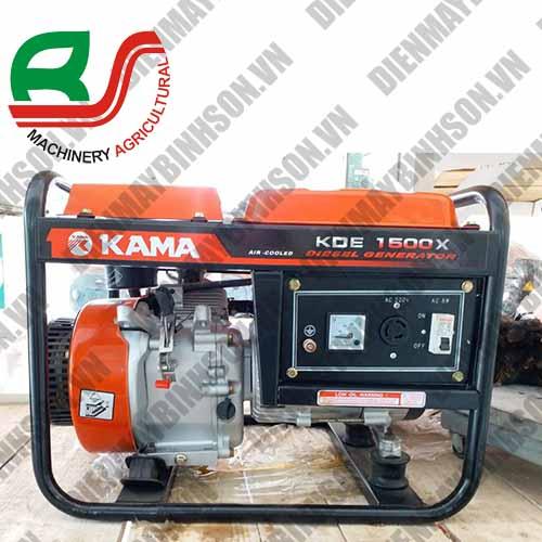 Máy phát điện Kama KDE1500