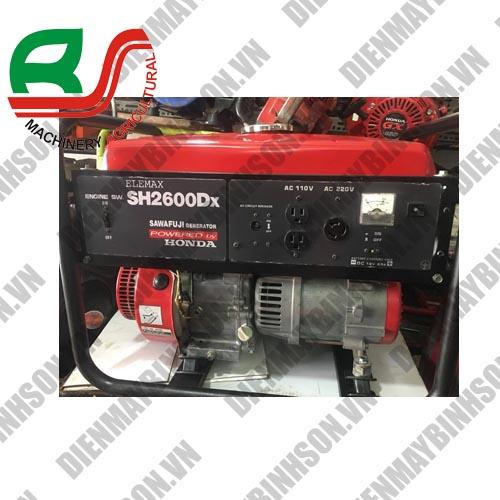 Máy phát điện cũ Elemax SH2600DX