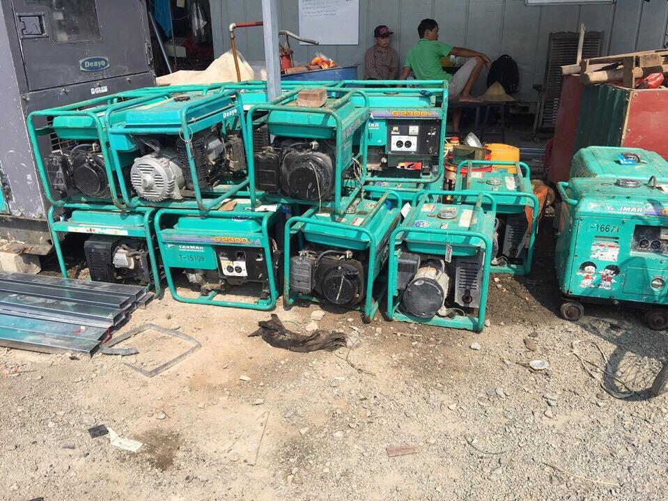 Tại sao nên mua máy phát điện cũ