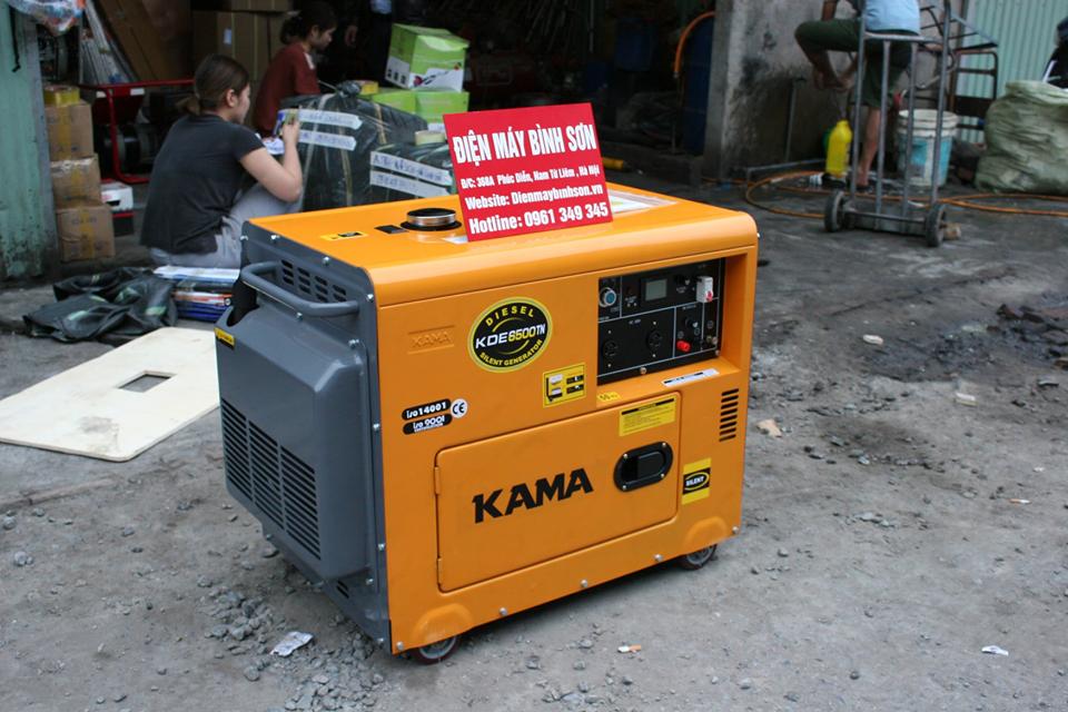 may-phat-dien-chay-dau-kama-kde6500-5kw