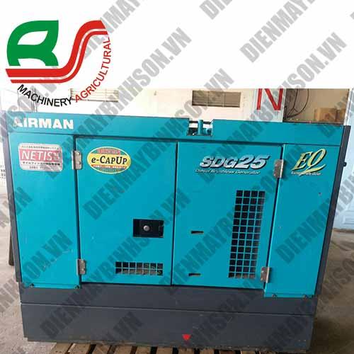 Máy phát điện nhật bãi Airman SDG25