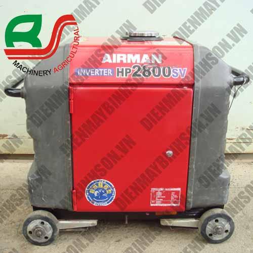 Máy phát điện cũ Nhật Airman HP2800SV