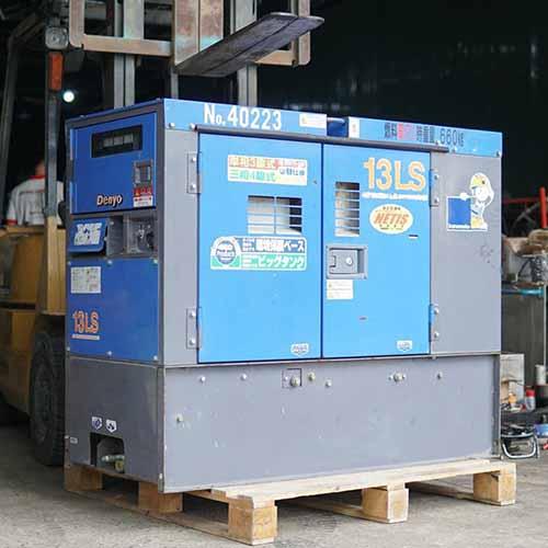 Máy phát điện nhật bãi Denyo 13LS - Đời 2012