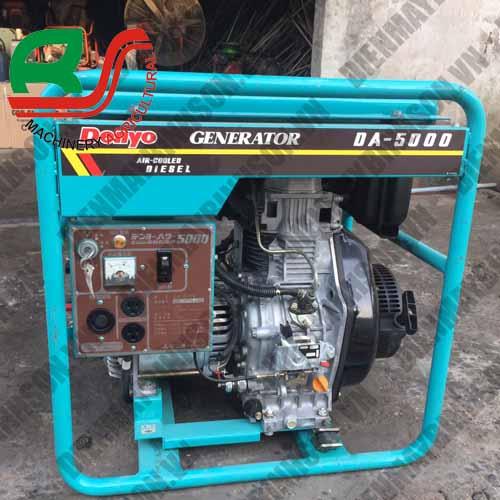 Máy phát điện cũ Denyo DA5000