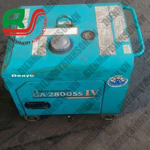 Máy phát điện cũ Nhật Deyno GA2800SS