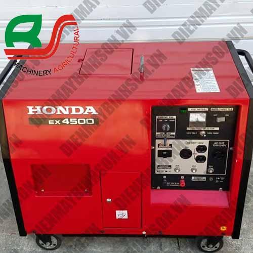 Máy phát điện nhật bãi Honda EX4500S
