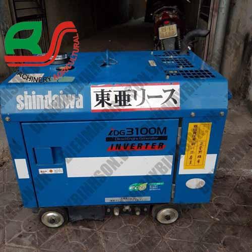 Máy phát điện cũ Shindaiwa DG3100M