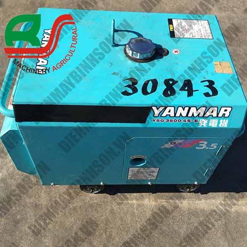 Máy phát điện cũ nhật Yanmar YSG3500