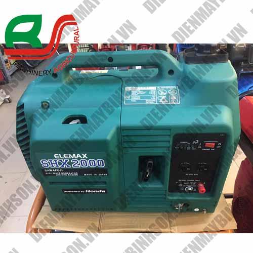 Máy phát điện cũ Nhật Elemax SHX2000