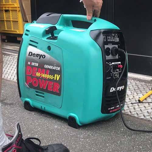 Máy phát điện Cũ Denyo GE1400SS