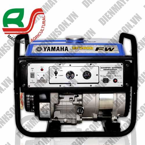 Máy phát điện Yamaha EF2600 FW