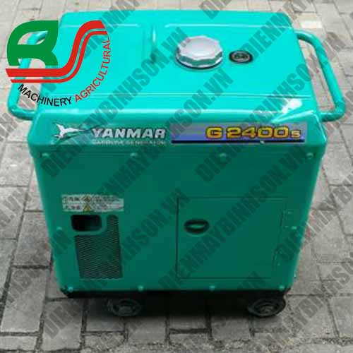 Máy phát điện cũ Yanmar G2400s