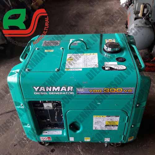 Máy phát điện cũ Yanmar YDG300VS