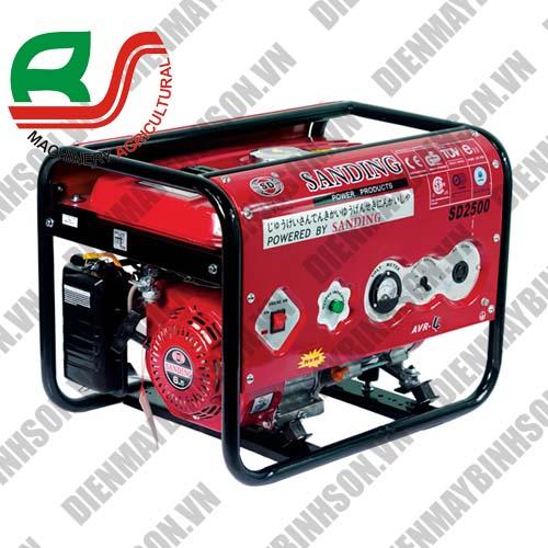 Máy phát điện Sanding SD-2500