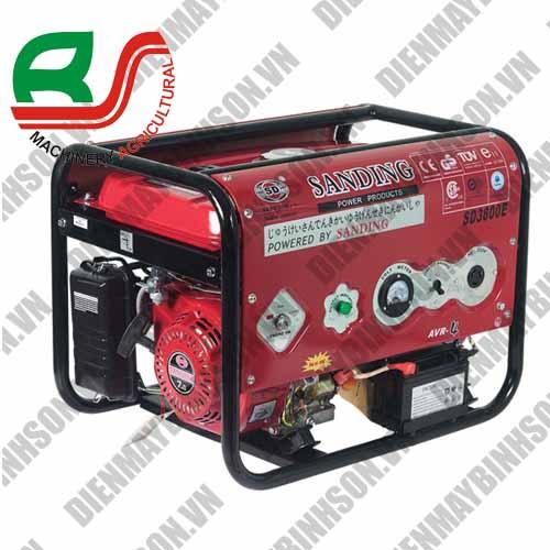 Máy phát điện Sanding SD-3800E