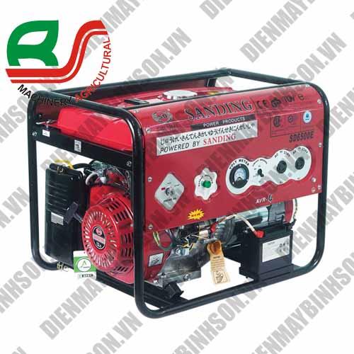 Máy phát điện Sanding SD-6500E