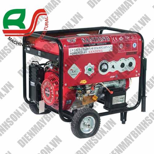 Máy phát điện Sanding SD-8000WE