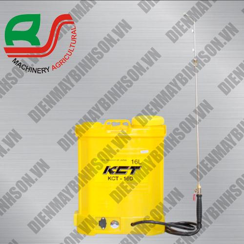 Bình phun thuốc trừ sâu điện KCT 16D