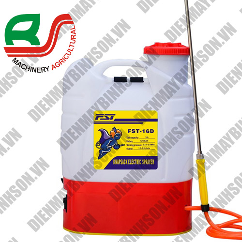Bình phun thuốc trừ sâu điện FST 16D