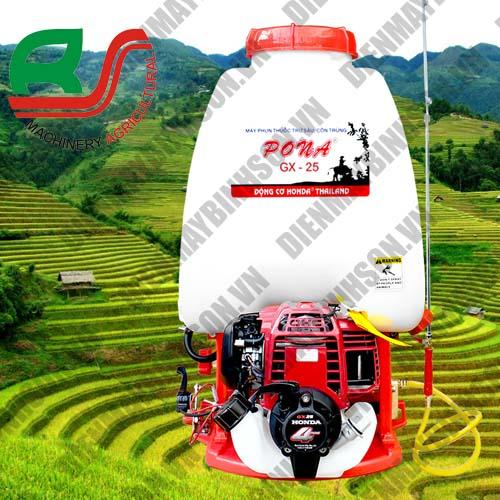 Máy phun thuốc trừ sâu Pona Honda GX25