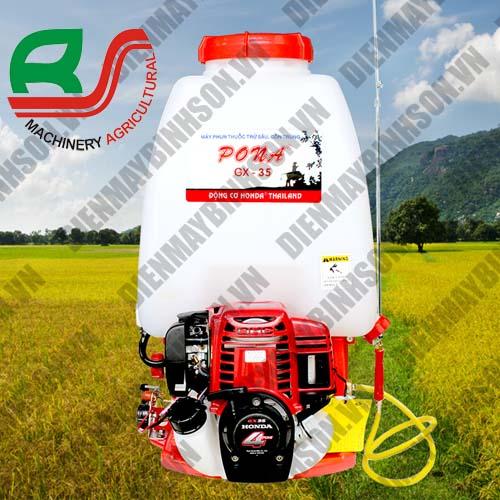 Máy phun thuốc trừ sâu Pona Honda GX35