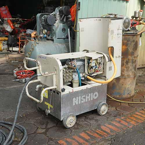 Máy rửa xe nhật bãi Nishio 5HP