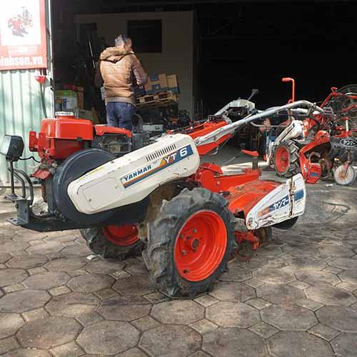 Máy xới đất nhật bãi diesel Yanmar YT6